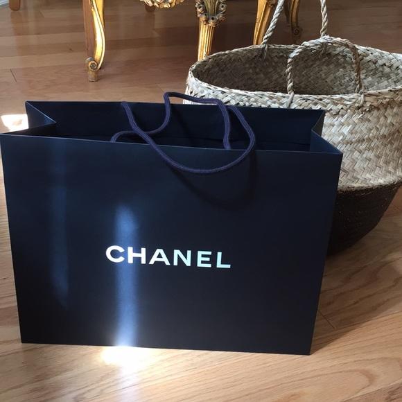 56aa02310cfd Big Chanel Shopping Bag   Poshmark
